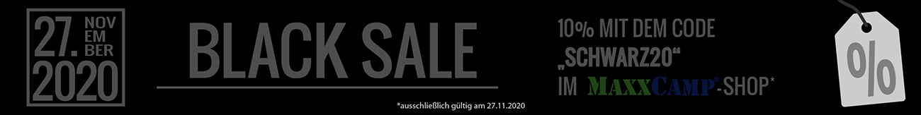 Black Sale bei MAXXCAMP
